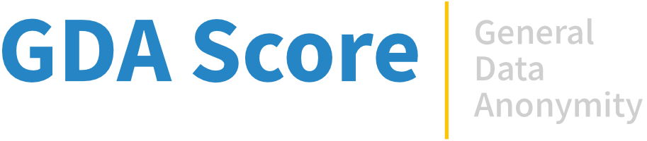 General Data Anonymity Score Logo
