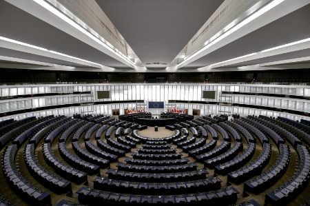 EU Parliament in Brussels